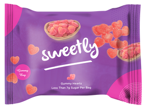 Sweetly Gummy Hearts