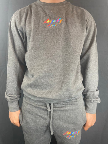 Longevity Apparel Crew neck Sweatshirt & Joggers