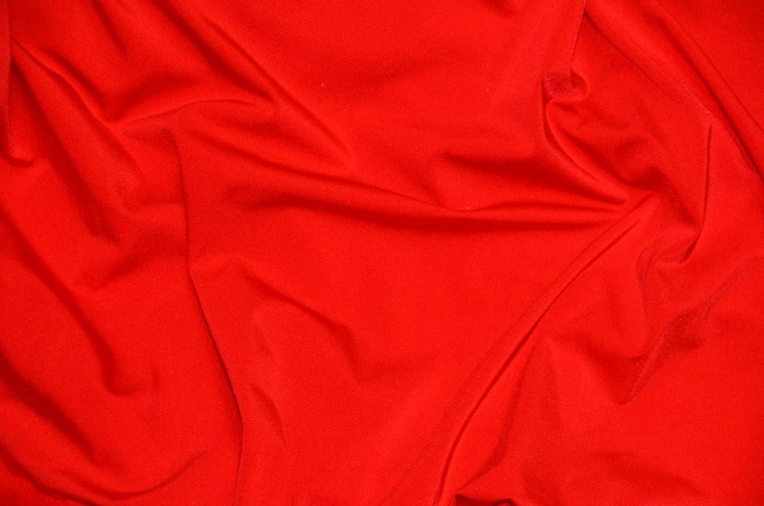 "Red Spandex Lycra 60"" Wide 