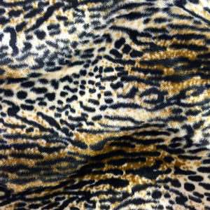 "Wildcat Velboa 18""x18"" Pillow Cover 