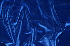 "Royal 4-WAY Spandex Stretch Velvet 60"" Wide 