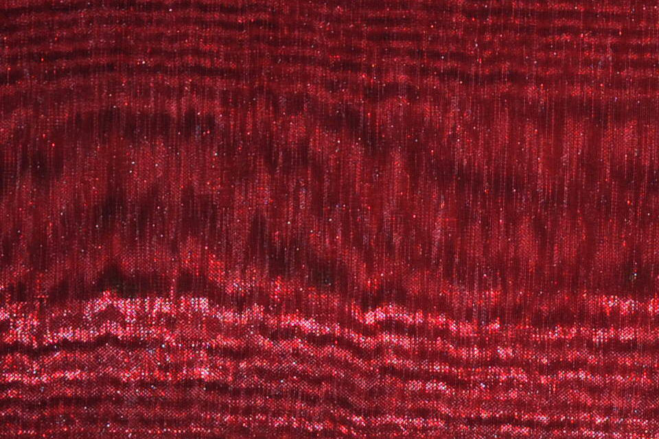"Burgundy Sheer Mirror Polyester Organza 58"" Wide 
