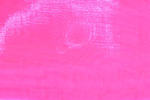 "Candy Pink Sheer Mirror Polyester Organza 58"" Wide 