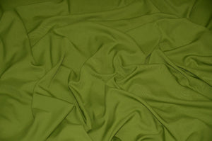 "Avocado Solid Polyester Polypoplin 60"" Wide 