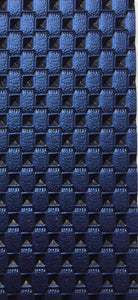 "Blue Freestyle Morbern Premium Marine Gade Faux Leather Vinyl 54"" Wide 
