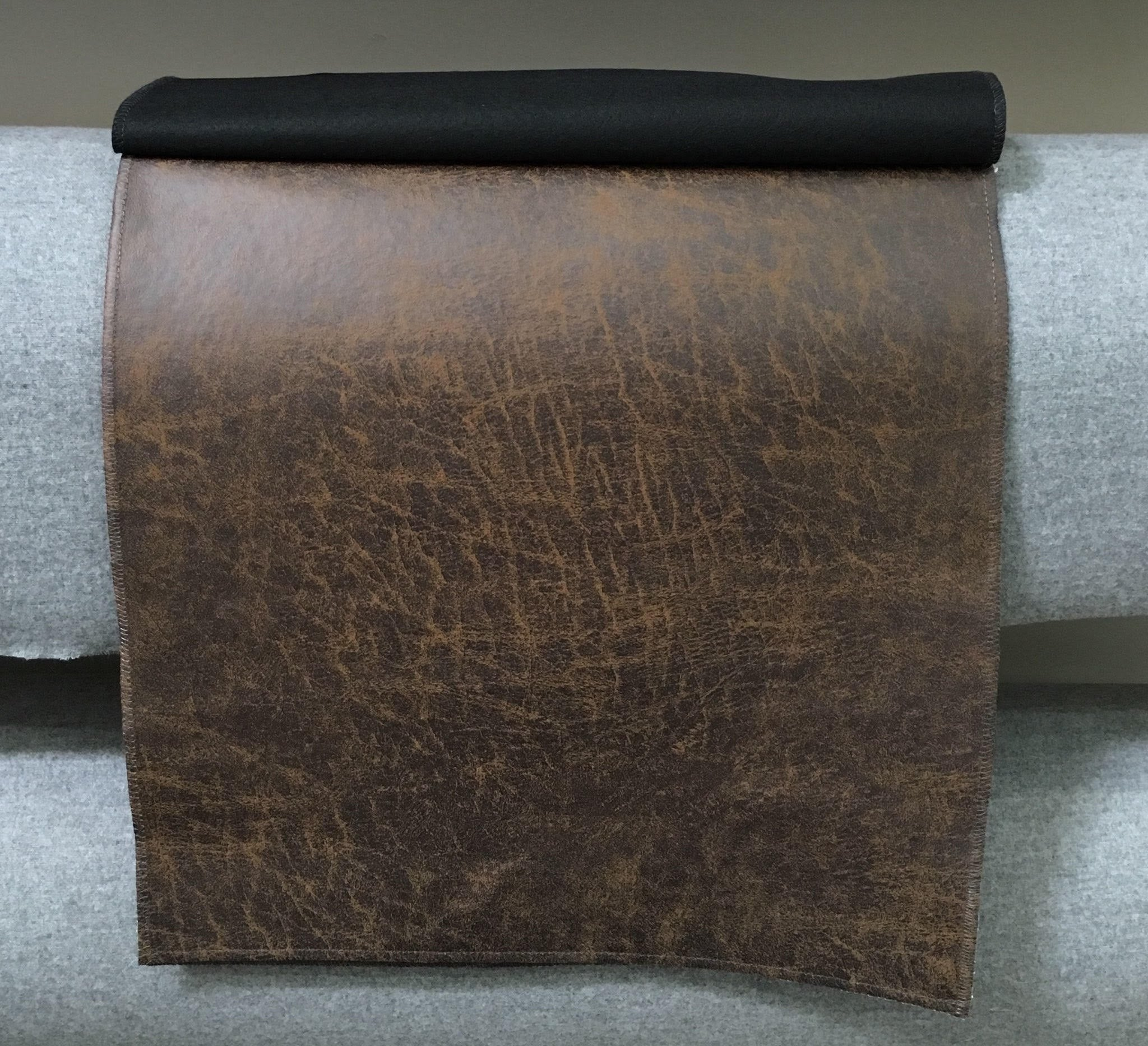 "Peat Dakota Faux Micro Suede Felt Backing 54"" Wide 