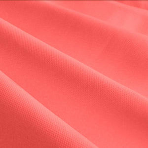 "Coral Solid Poly-Cotton Broadcloth Fabric 58"" Wide 