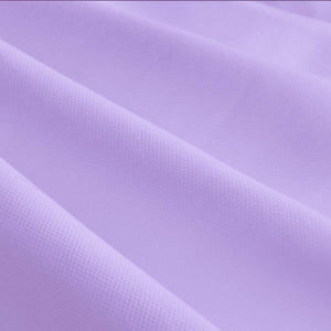"Lilac Solid Poly-Cotton Broadcloth Fabric 58"" Wide 