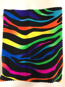 "Magic Zebra Spandex Lycra 60"" Wide 