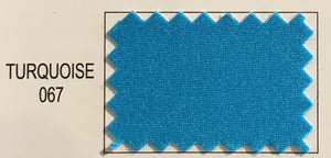"Turquoise Matte Tricot Spandex Knit 58"" Wide 