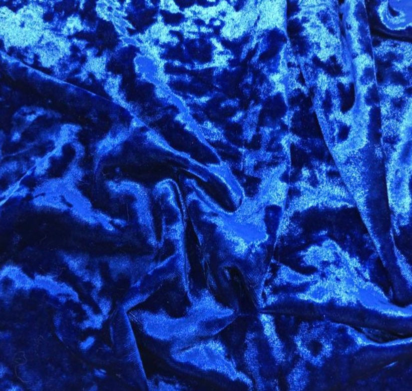 "Royal Crushed Stretch Velvet 60"" Wide 