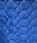 "Load image into Gallery viewer, Royal Diamond Quilted Faux Suede 3/8"" Foam Backing 58"" Wide 