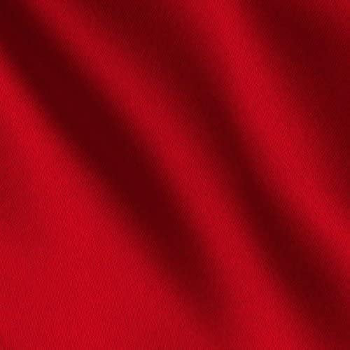 "Red Bridal Satin Polyester 58"" Wide 