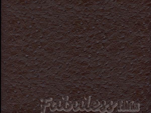chocolate-ostrich-faux-leather-vinyl-58-wide-upholstery-fabric-by-the-yard