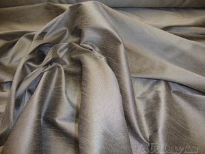 "Dove Shantung Dupioni Faux Silk 54"" Wide 