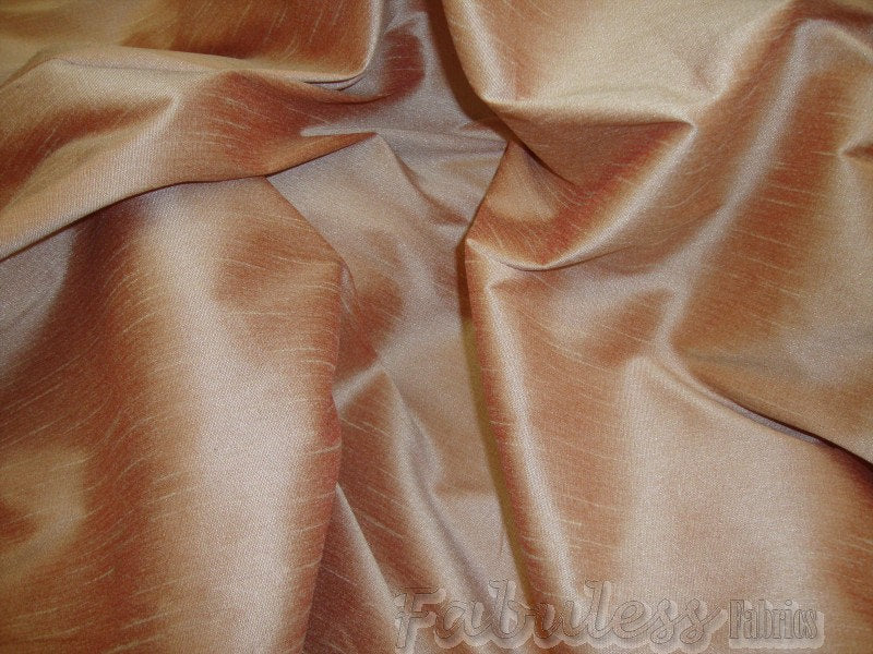 "Cream Puff Shantung Dupioni Faux Silk 54"" Wide 