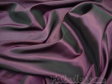 Load image into Gallery viewer, Eggplant  Dress Drapery Taffeta fabric per yard