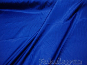 "True Blue Bridal Satin Polyester 58"" Wide 