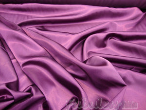 "Violet Bridal Satin Polyester 58"" Wide 