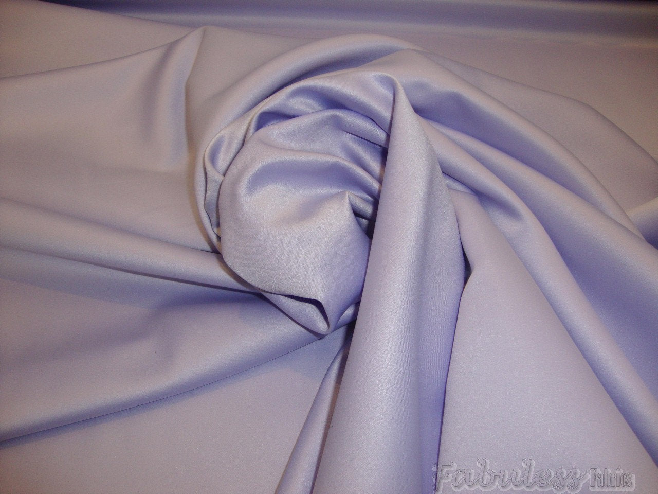"Lavender Lamour Dull Bridal Satin Polyester 58"" Wide 