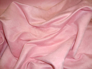 "10 yards Pink  Suede upholstery fabric 60"" wide"