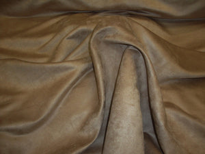 "Camel Micro Faux Suede 60"" Wide 