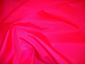 "Hot Pink 420 Denier Water Resistant Nylon Canvas 60"" Wide 