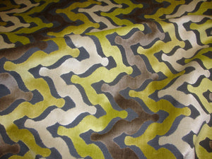 "Grass Wave Embossed Raised Velvet 55""/56"" Wide 
