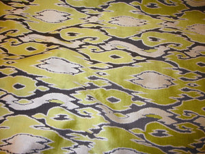 Wheat Grass Maldives Embossed Raised Velvet  55"