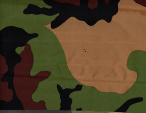 "Woodland Camouflage 600 Denier Waterproof UV Protection Polyester Canvas 60"" Wide 