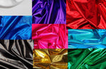 "Load image into Gallery viewer, Royal Metallic Spandex Lycra 60"" Wide 