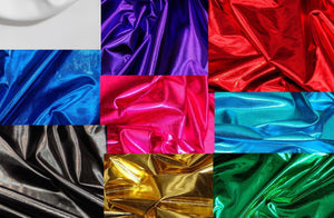 "Royal Metallic Spandex Lycra 60"" Wide 