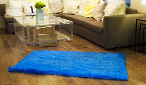 Royal Shaggy Faux Fur Rectangular 8'x10' Area Rug || Home Decor
