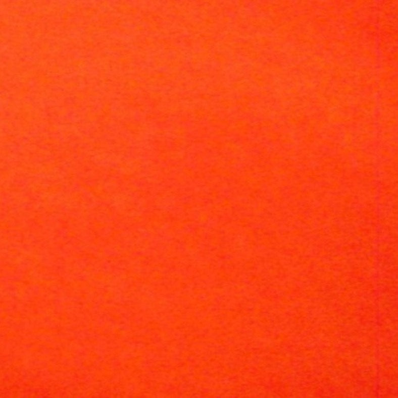 "Orange Solid Polar Fleece Fabric 60"" Wide 