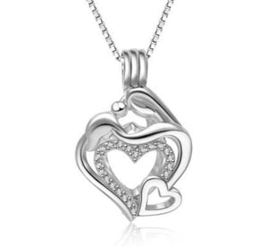 Mother & Child Sterling Silver Cage sku # 123-C