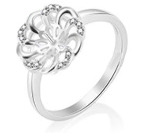 Hope Ring Sterling Silver sku # 337-R (Size 9)