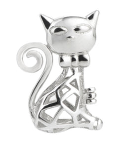 Kitty Sterling Silver Cage sku # 143-C
