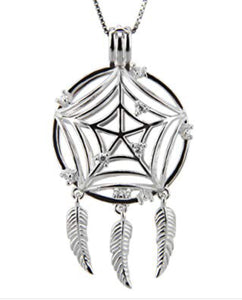 Dream Catcher Edison Cage sterling silver sku # 705-EC