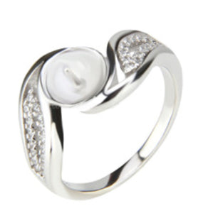 Divine Ring Sterling Silver sku # 335-RE (Size 9)