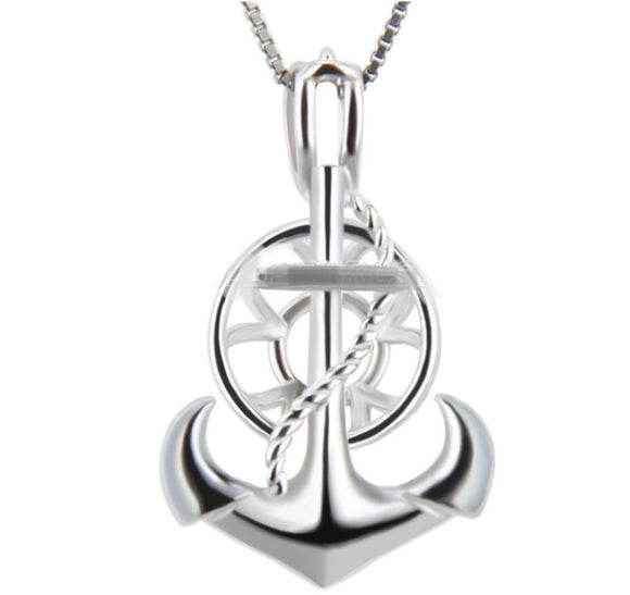 Anchor Strong Sterling Silver Cage sku # 113-C