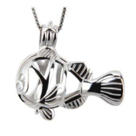 Clownfish Sterling Silver Cage sku # 107-C