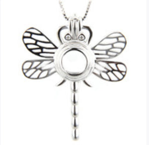 Dragonfly Sterling Silver Cage sku # 166-C
