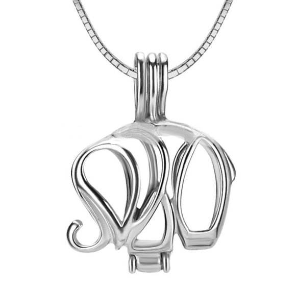 Elephant Sterling Silver Cage sku # 122-C