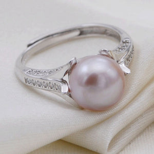 Pure Romance Sterling Silver Adj. Ring sku # 312-RE