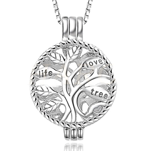Life Tree Sterling Silver Cage sku# 162-C