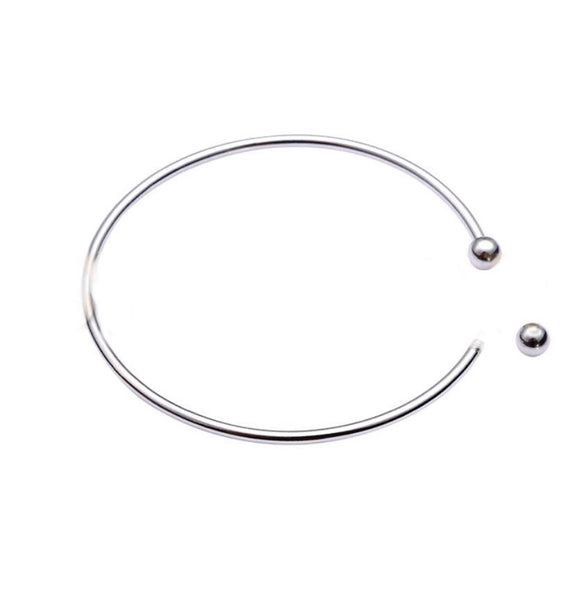 Classic Bangle Sterling Silver Bracelet sku # 401-B