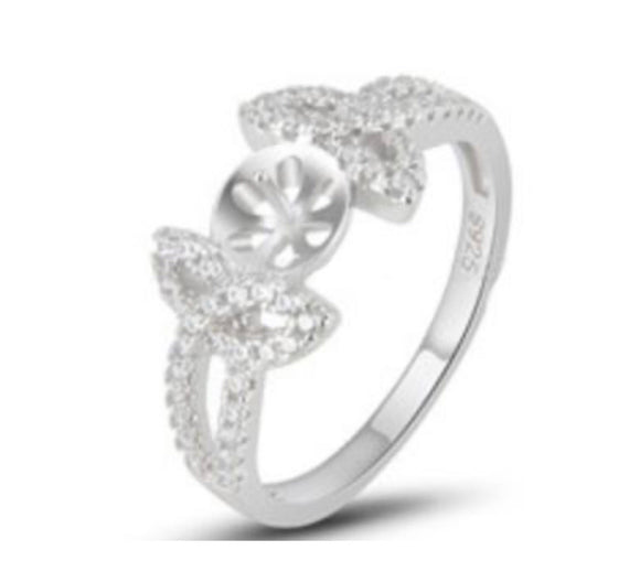 Bedazzled Ring Sterling Silver sku # 356-R