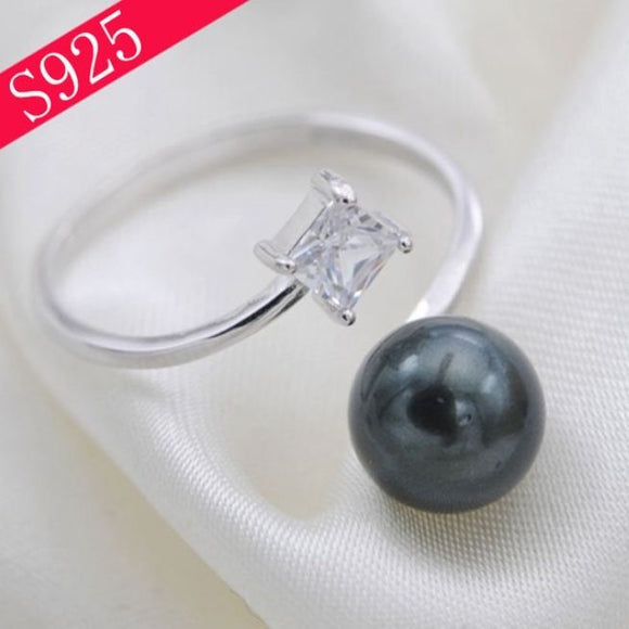 CZ Wrap Ring Sterling Silver Adj. sku # 324-R