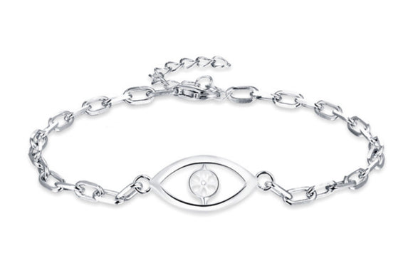 Eye Catching Sterling Silver Bracelet sku # 410-B