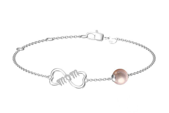 Mom Sterling Silver Bracelet sku # 407-B